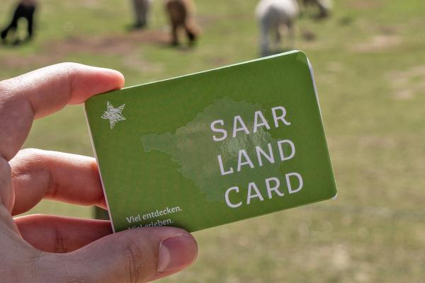 Free-of-charge public transport with the Saarland Card